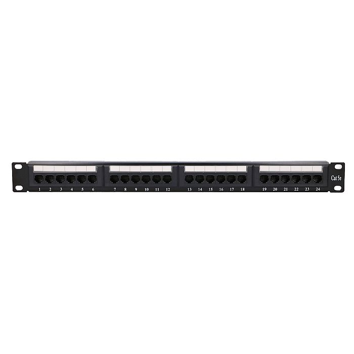 EXTRALINK 24 PORT CAT5E UTP PATCH PANEL