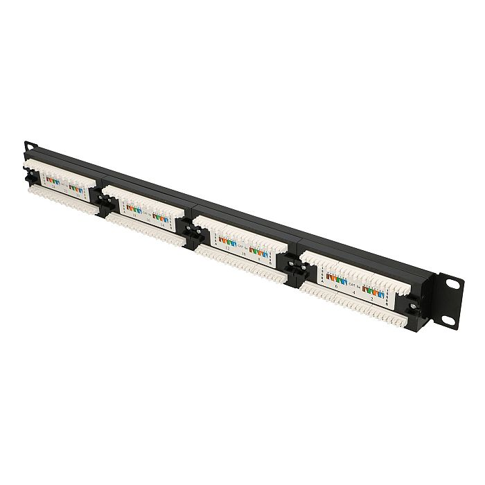 EXTRALINK 24 PORT CAT5E UTP PATCH PANEL V2