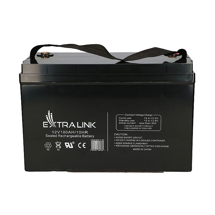 EXTRALINK AKUMULATOR BATTERY ACCUMULATOR 12V 100AH